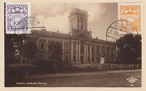 D.  Ansichtskarte Lettland   Jelgava  -  Academia Petrina  1936