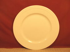 Made In China All White Beaded Edge Design Dinner Plate 10 1/2 & More (Walmart)
