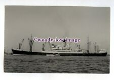 jc0325 - Blue Funnel Cargo Ship - Ajax , built 1958 - photograph J Clarkson