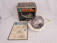 Vtg 1968 Major Matt Mason SPACE BUBBLE Complete w Original Box & Manual NICE!