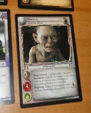CCG LORD OF THE RINGS RARE CARD CARTE SoG 8.R27 Smeagol Slippery Sn LOTR 2004 **
