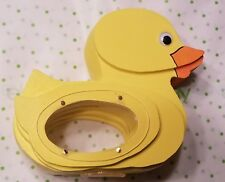 Wooden Duck Coin Bank Duckie Piggy Bank Handmade Child's Toy Animal Shaped Bank