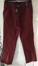 BNWTS Ladies Linen Trousers Uk Size 10 Primark Pockets