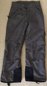 055 SPYDER 20,000mm Dermizax Thinsulate Ski Snow Board Pants Grey Mens 38 VGC