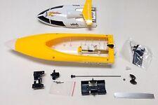 B01Y: 1 set mini RC Racing Boat/AquaCraft Body Parts,ARTR,L30cm(12 inch) Yellow
