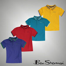 Boys' Striped Polyester Short Sleeve Sleeve T-Shirts, Tops & Shirts (2-16 Years)