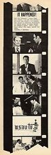 1973 WSAU WAUSAU,WISCONSIN TV NEWS AD~IT HAPPENED ! CHANNEL 7 NEWS GOT THE STORY