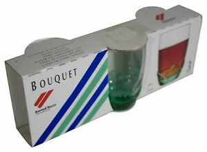 New BOUQUET Bormioli Rocco SET Of 3 Liqueur SHOT GLASSES 3 Oz Each Made In ITALY