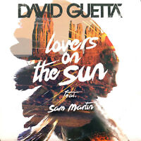 David Guetta Feat. Sam Martin CD Single Lovers On The Sun - Promo (EX/M)
