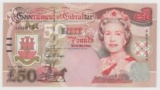More details for gibraltar 50 pounds dated 1995 winston churchill p28a uncirculated unc