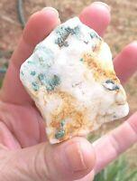 Ajoite Rough Quartz 69.30  grams from Messina South Africa