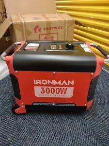 Hon / IRONMAN 3000 Watts inverter generator with electric start.