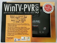 WinTV-PVR-USB2 MCE Bundle TV Tuner/Personal Video Recorder New (other)