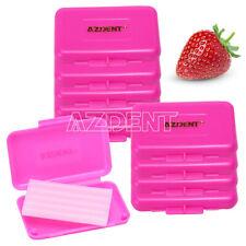 50 Box Dental Orthodontics Ortho Wax For Braces Gum Irritation Strawberry Scent