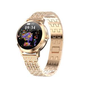 Luxury Women Smart Watch Heart Rate Blood Pressure Fitness Tracker Lady Bracelet