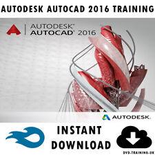 Autodesk AutoCAD 2016 – Professional Video Training Tutorial - Instant Download