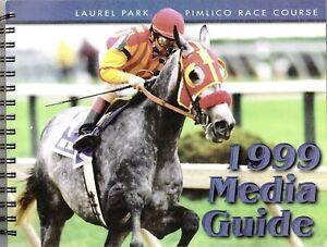 1999 - Laurel Park - Pimlico Race Course Media Guide in MINT Condition