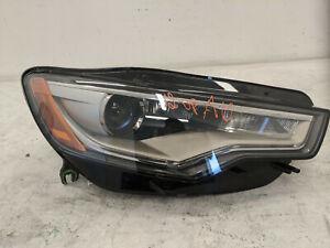 2012 2013 2014 2015 AUDI A6 S6 RIGHT PASSENGER HID HEADLIGHT OEM USED #866446
