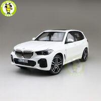 1/18 BMW X5 40i 2019 G05 Diecast Model Car SUV Toys Boy Girl Gifts White