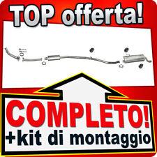 Scarico Completo PEUGEOT 206 CC 1.6 16V 2000-2005 Marmitta +Tubo 926