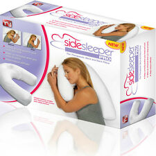 Side Sleeper Pro Neck & Back Pillow:Holds Your Neck / Spine During Sleep