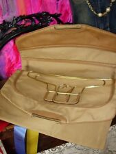 RARE Vintage GUCCI GARMENT BAG Hangers TOTE Luggage Travel Suitcase Keepall GG