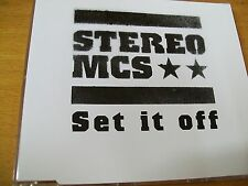 STEREO MCS SET IT OFF  CD SINGOLO MINT--  PR0M0