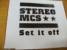 STEREO MCS SET IT OFF  CD SINGOLO MINT--  PR0M0