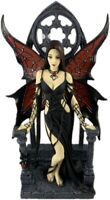 9 Inch Aracnafaria By Anne Stokes Collectible Fairy Figure Gothic Decor Figurine