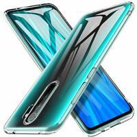 For Xiaomi Redmi Note 8 Pro Case Clear Silicone Ultra Slim Gel Cover