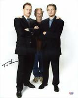 Tom Hanks Signed Authentic 11X14 Photo W/ Spielberg & Dicaprio PSA/DNA #X44186