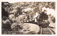 Terry-Stanaford-Glen Morgan WV Chesapeake & Ohio Coal Train~RPPC 1950s
