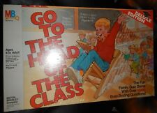 Go To the Head of the Class Board Game - 1986 Deluxe Edition