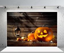 5x3FT Halloween pumpkin lights Photography Backdrops Photo Props for Studio