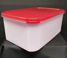 Tupperware Modular Mates Rectangle #2 Storage Container 18 Cup Red Seal New