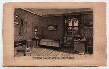 Illustrateur Weimar, Friedrich Schiller's Arbeits- u. Sterbezimmer