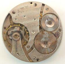 Movement - Parts / Repair Waltham Grade 610 Mechanical Pocket Watch