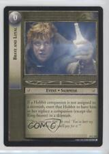 2004 The Lord of the Rings TCG: Mount Doom #10U105 Brave and Loyal Card 0f8