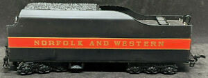 Bachmann HO: NORFOLK & WESTERN CLASS J Coal Tender COLLECTORS Ed. VINTAGE