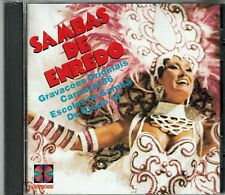 Sambas de Enredo  Carnaval 86  Escolas de Samba  BRAND NEW SEALED CD