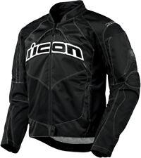 ICON Contra Textile Motorcycle Jacket (Black) L (Large)