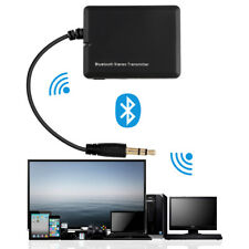 Transmisor de música estéreo Bluetooth 3.5 mm A2DP Dongle Adaptador de Audio de alta fidelidad TV PC