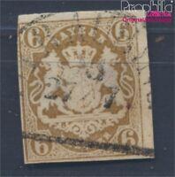 Baviera 20 ejemplar normal usado 1868 Emblema del Estado de (8357914