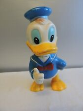Vintage Donald Duck Walt Disney Productions Rubber Doll Made in Japan