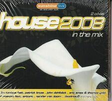 "HOUSE 2008 - IN THE MIX - 2 CD ALBUM  "" NEU in OVP VERSCHWEISST #M84#"