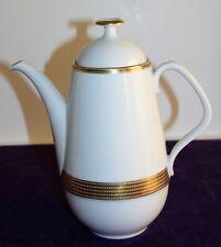 Eschenbach cafetière décor 7976 blanc avec zisiliertem bord en or