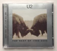 U2 The Best of 1990-2000 CD disc 2002 Greatest hits 90's classics Island Canada