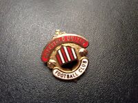 Sheffield United  FC Vintage Enamel Pin Badge