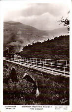 Snowdon Mountain Railway. The Viaduct # SWDN.57 by Lilywhite. L.M.S.Photo.