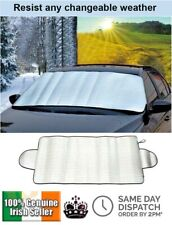 CAR WINDSCREEN COVER FROST ICE SNOW DUST HEAT SHIELD PROTECTOR SUNSHIELD VISOR
